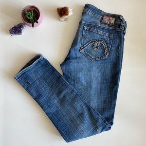 Mavi Lindy Distressed Denim Jeans